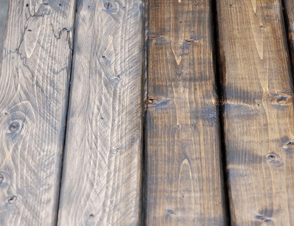 エイジング加工で木のテーブルをアンティーク風に Diyer S