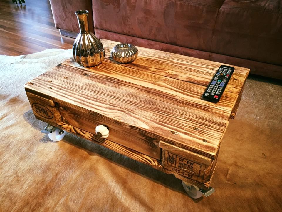 Pallet Coffee Table Furniture Home