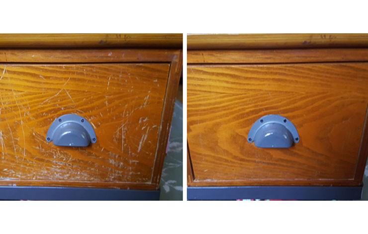 """Â�リーブオイルとお酢を使って木製家具の傷を目立たなくさせるdiy術! """"� Tips """"� ȇ�分らしいdiyスタイルを"""